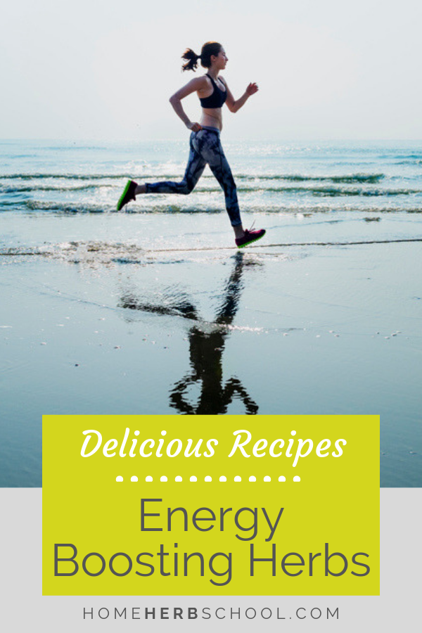 These top herbs for energy are called adaptogens in herbalism. They help to boost energy mentally and physically. #Herbalism #HerbalMedicine #BoostEnergy