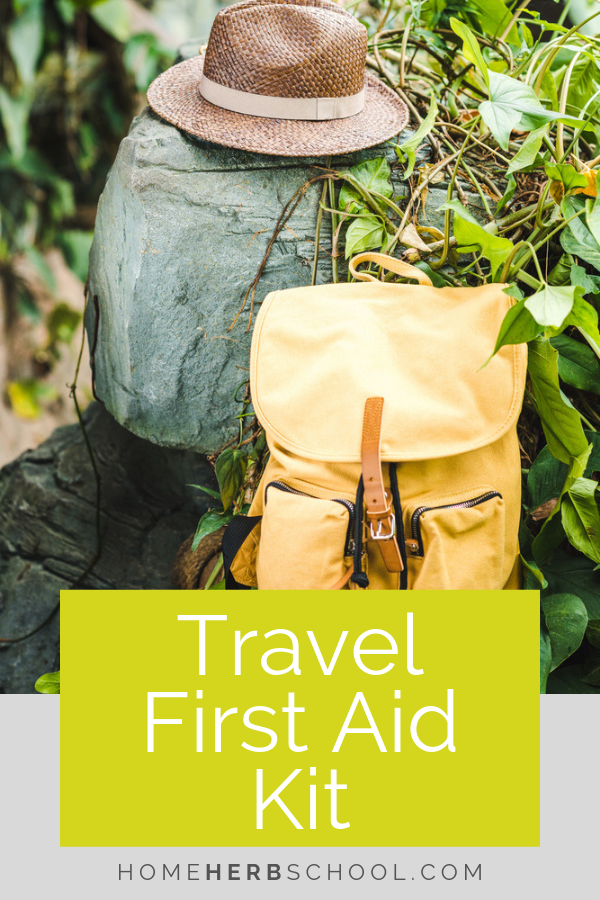 Your travel first aid kit should include herbal remedies. Herbalism can be very helpful for common first aid situations. Make sure you have the remedies on hand when you need them. #Herbalism #HerbalMedicine #FirstAidKit