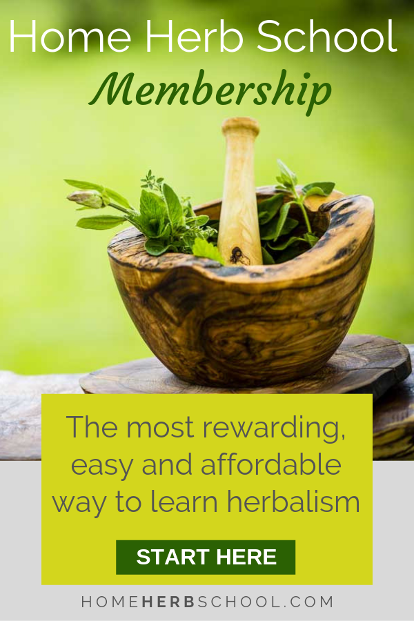 The best online herbalism courses are all included in the Home Herb School Membership